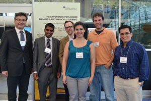 International roundtable participants at the 2013 AAN meeting. From left: Johann Sellner, Tissa Wijeratne, Justin Jordan, Rachel Marin de Carvalho, David R. Mayans and David Avila.
