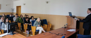During exchange visits, residents from both hosting and visiting sites participate in various lectures and discussions.