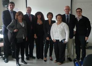 Faculty of recent NSRG teaching course in Sao Paulo: (from left) Ayrton Massaro (Brazil), Corina Puppo (Uruguay), Natan Bornstein (Israel), Silvia Cocorullo (Argentina), Viviane Flumignan Zétola (Brazil), Glória Meza Rejas (Paraguay), Manfred Kaps (Germany) and Marcos Lange (Brazil).