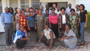 Parkinson's Disease Nurse Specialist (PDNS) Course participants and faculty.