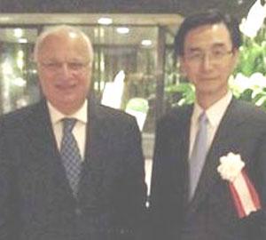 Raad Shakir (left) and Hidehiro Mizusawa.