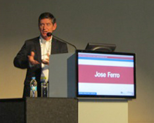 Prof. Jose Ferro identified research challenges.