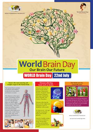 Figure 2. World Brain Day logo.