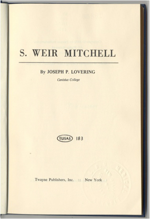 Figure 3. The frontispiece of J.P. Lovering's