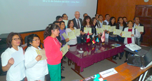 Figure 3. Participants of the NSRG Course in Lima.