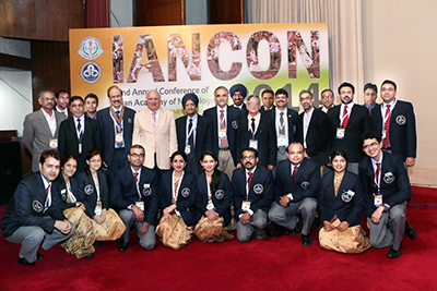 Figure 3. A group of attendees at the Indian Academy of Neurology Conference November 2014 in Chandigarh.