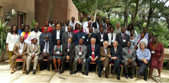 Representatives from 27 countries participate in the inaugural meeting of the African Academy of Neurology in Dakar, Senegal, in August.
