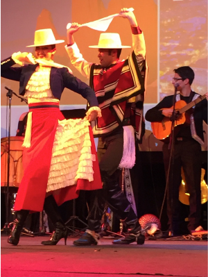 The XXII World Congress of Neurology opens with a lively Chilean cultural performance.