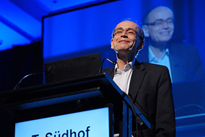 2013 Nobel Laureate in Physiology and Medicine Prof. Thomas Südhof presents a lecture on neurexins.