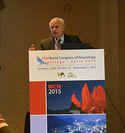 Prof. Raad Shakir outlines the role of the WFN in the Palatucci course.