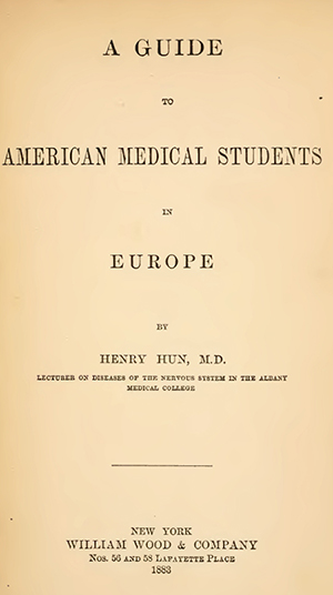 Henry Hun's Guide to American Medical Students in Europe