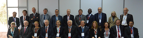 Representatives from the World Brain Alliance and sister organization in the Global Neurology Network met during the World Congress of Neurology (WCN) Nov. 3, 2015 in Santiago, Chile.