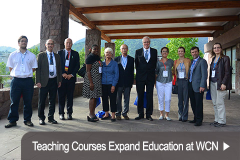 Teaching Courses Expand Education at WCN