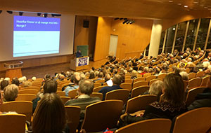 YotB2015 meeting about treatment of neurological disorders, Oslo University Hospital.