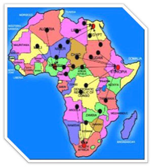 Teleneurology_Africa-map