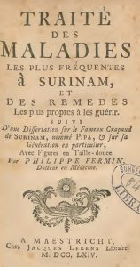 Fig. 1. Title page of Fermin's Traité des Maladies (1764)
