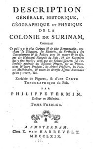 Fig. 2. Title page of his Description Générale (1769)