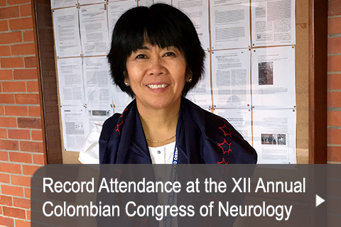 Record Attendance at the XII Annual Colombian Congress of Neurology