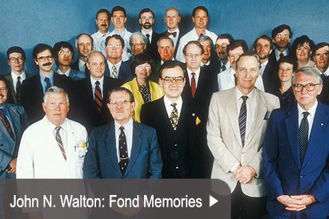 John N. Walton: Fond Memories