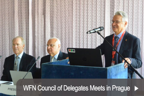 WFN Council of Delegates Meets in Prague