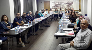 Moroccan neurologists take part in the Sept. 24, 2016, Continuum session, in Rabat.