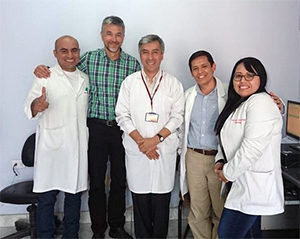 The Instituto de Ciencias Neurologicas team.