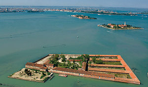 Victims of the plague were isolated on islands to keep the disease from spreading to Venice.