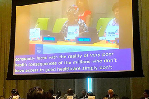 The Third High-Level Meeting of the United Nations on Non-Communicable Diseases The third high-level meeting of the United Nations (U.N.) on Non-Communicable Diseases (NCDs) was held Sept. 27 at the UN in New York City. It scaled up multistakeholder and multisectoral responses for the prevention and control of NCDs in the context of the 2030 Agenda for Sustainable Development.