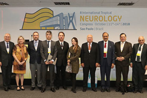 Tropical Neurology: INTROPICON 2018 The second International Tropical and Geographical Neurology Conference (INTROPICON) was held in conjunction with the 28th Brazilian Congress of Neurology and the 15th Pan American Congress of Neurology Oct. 11-14, 2018, in Sao Paulo, Brazil. The congress was huge and was attended by more than 3,800 delegates from all over Latin America and across the world.
