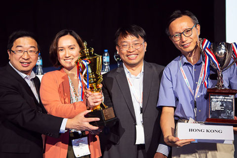 Tournament of the Minds The Tournament of the Minds was held at the 2019 World Congress of Neurology (WCN) in Dubai and was an outstanding success. Fifteen teams participated in the initial round, which was a record.