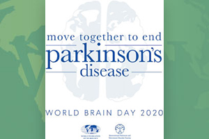 World Brain Day A reminder to all readers that World Brain Day 2020, a collaborative effort between the WFN and the International Parkinson and Movement Disorder Society, and devoted to raising awareness for—and ending—Parkinson's disease, is underway just as this issue is going to press.