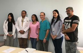 Staff of the neurology/psychiatry clinic.