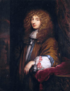 Christiaan Huygens; painting by Caspar Netscher (public domain).
