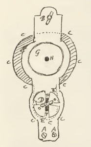 Design for a microscope in letter to his brother Constantijn 1678.9