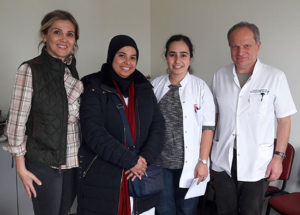 Photo taken on my last day in the neurology department (Istanbul)